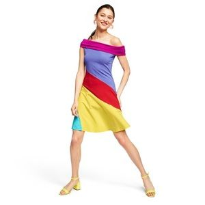 Steven Burrows for target color blocked dress s